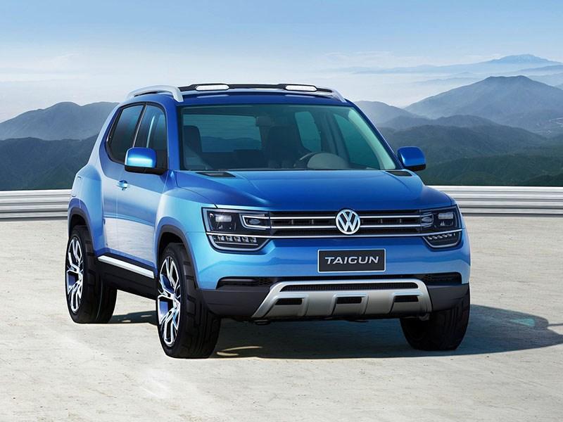 Volkswagen все же сделает серийным кроссовер Taigun