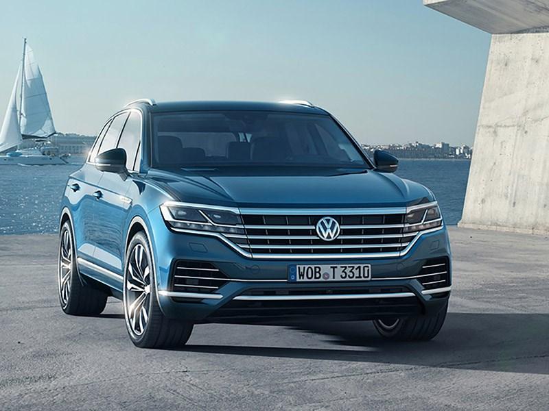 VW Touareg: раскрыты российские цены и комплектации