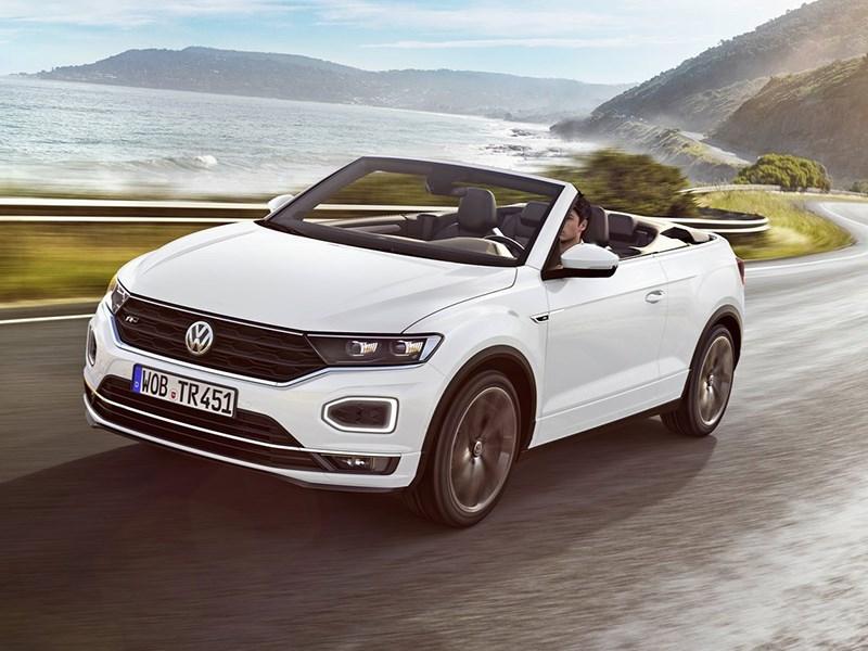 Volkswagen родил кабриолет кроссовер Фото Авто Коломна