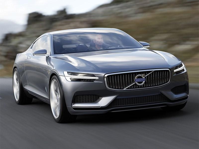 Volvo Coupe концепт 2013 вид спереди