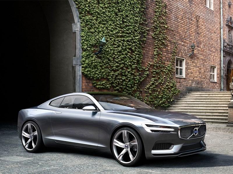 Новый Volvo Concept Coupe - Volvo Coupe концепт 2013 вид спереди 3/4