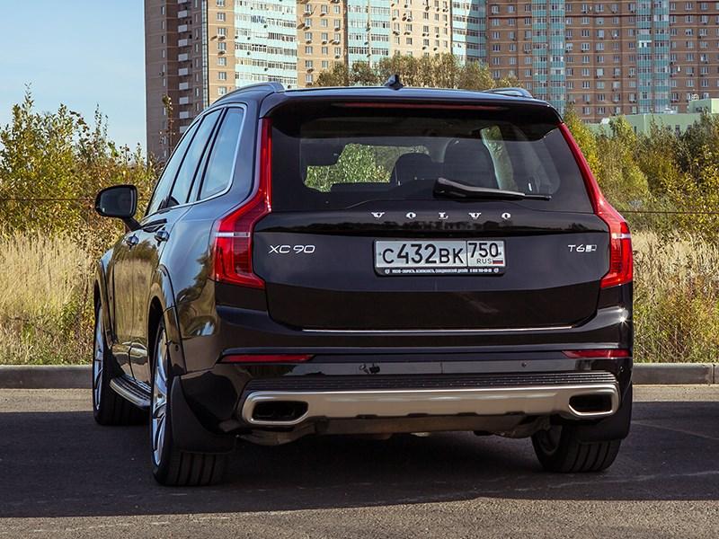 Volvo XC90 2015 вид сзади