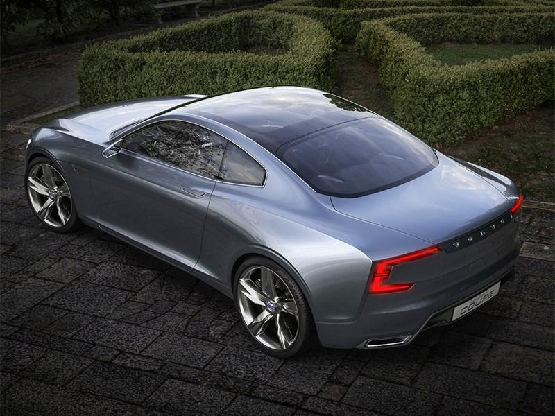 Volvo Coupe концепт 2013 вид сверху