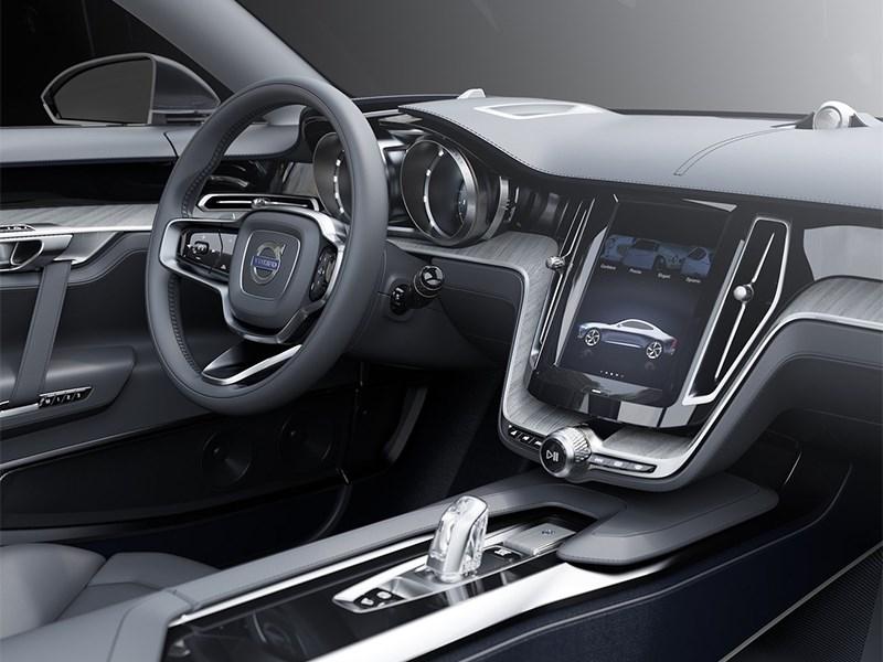 Volvo Coupe концепт 2013 водительское место