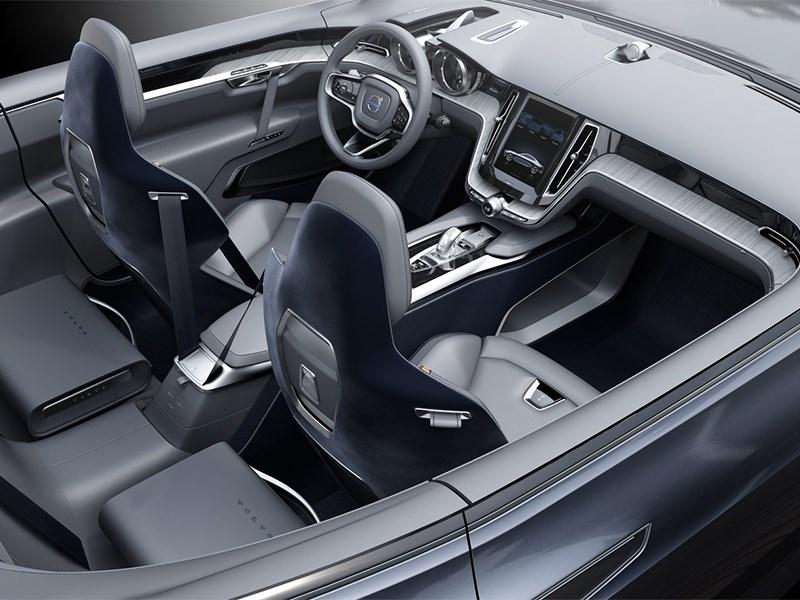 Volvo Coupe концепт 2013 салон