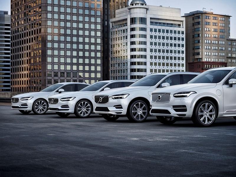 Volvo электрифицирует все модели с 2019 года