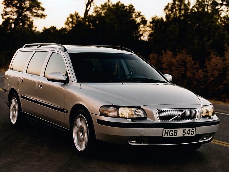 Volvo V70 2001 вместительный и практичный универсал