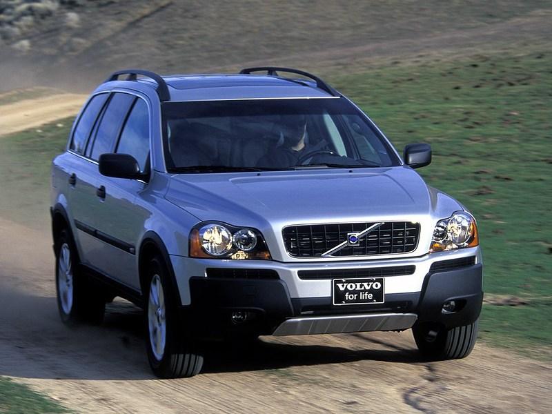 Многое в одном (Nissan Murano, Volvo XC90, Chrysler Pacifica) XC90 поколение I