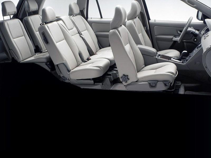 Volvo XC90 2002 семиместный салон