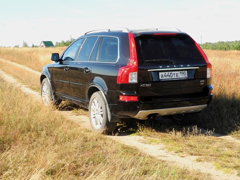 Volvo XC90 2012 вид сзади