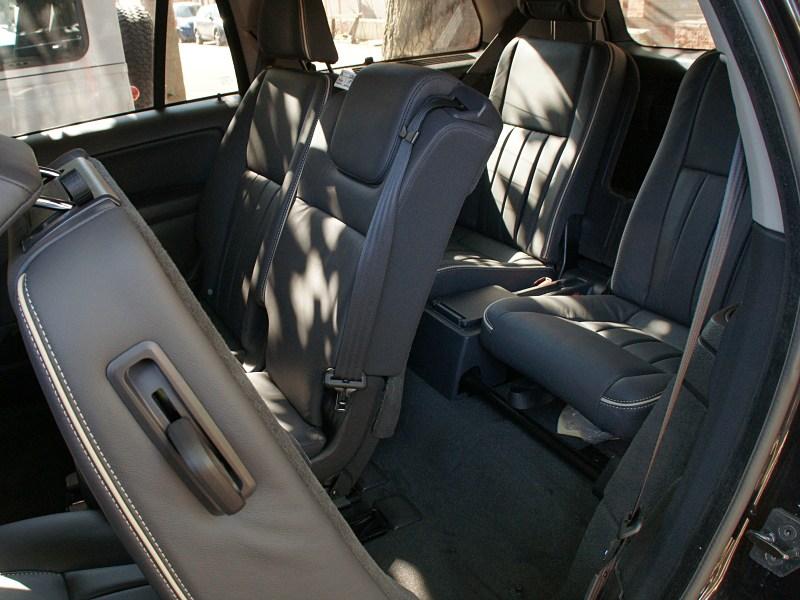 Volvo XC90 2012 третий ряд