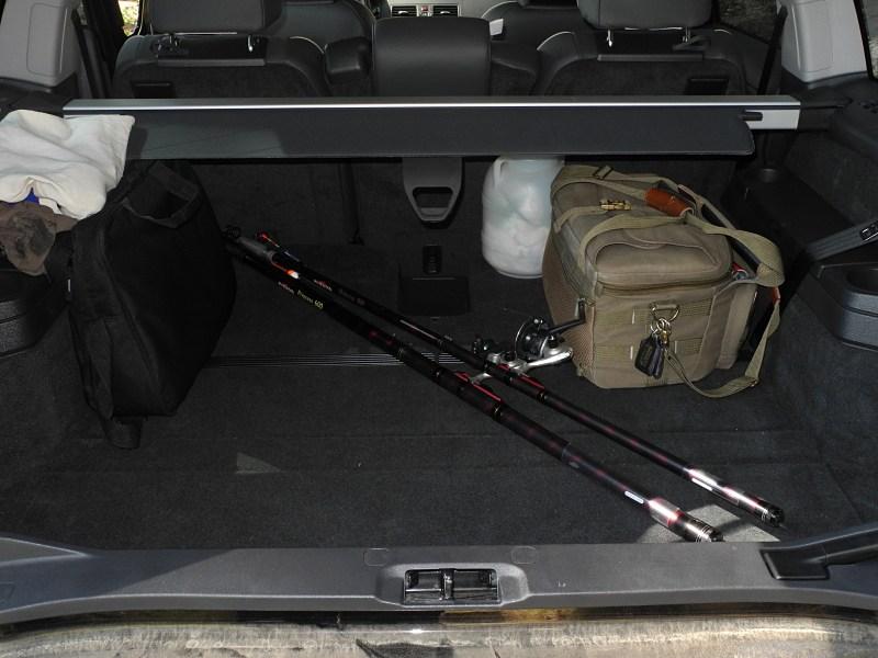 Volvo XC90 2012 багажное отделение