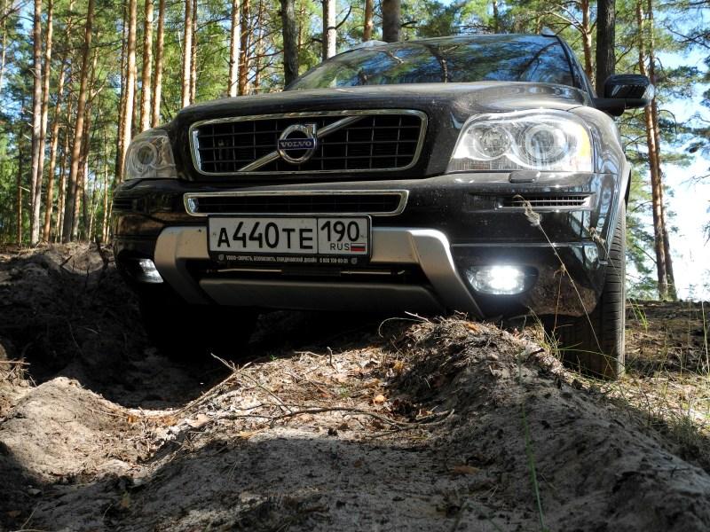 Volvo XC90 2012 вид спереди
