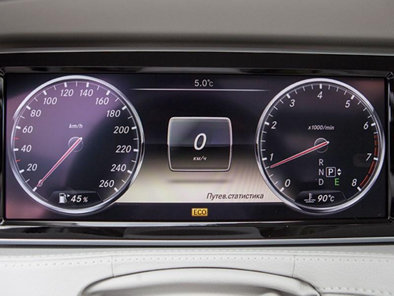 Mercedes-Benz S 500 LONG 2013 приборная панель