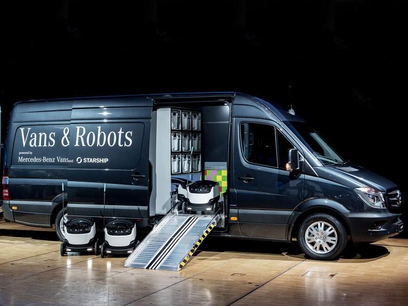 Mercedes-Benz показал еще один концептуальный «фургон будущего»