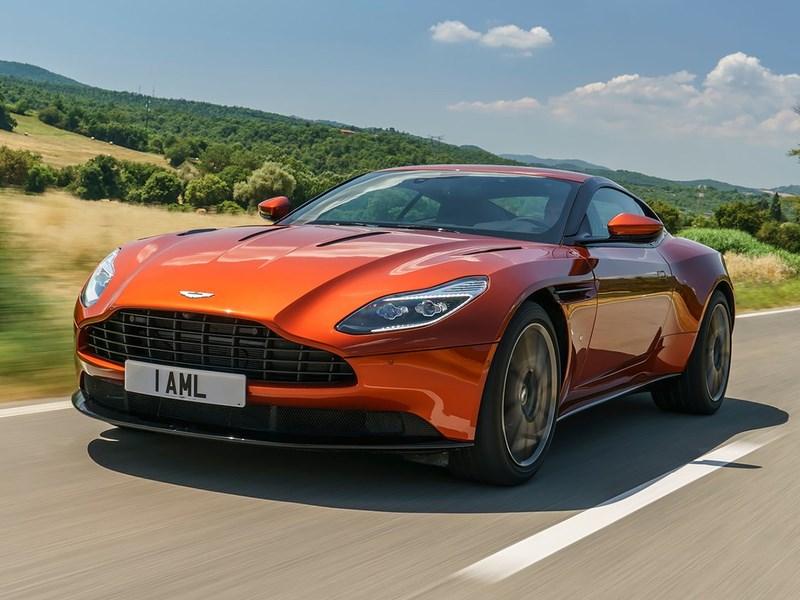 Aston Martin показал новый DB11 для российского рынка