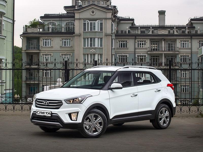Hyundai огласил стоимость нового кроссовера Creta для российского рынка