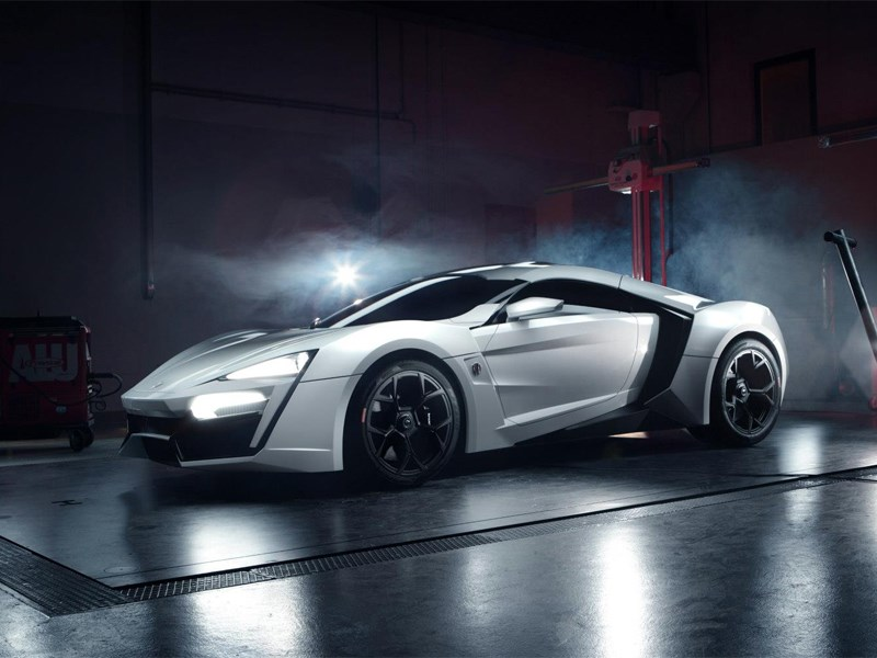 Новый W Motors Lykan Hypersport - W Motors Lykan Hypersport 2013 вид спереди