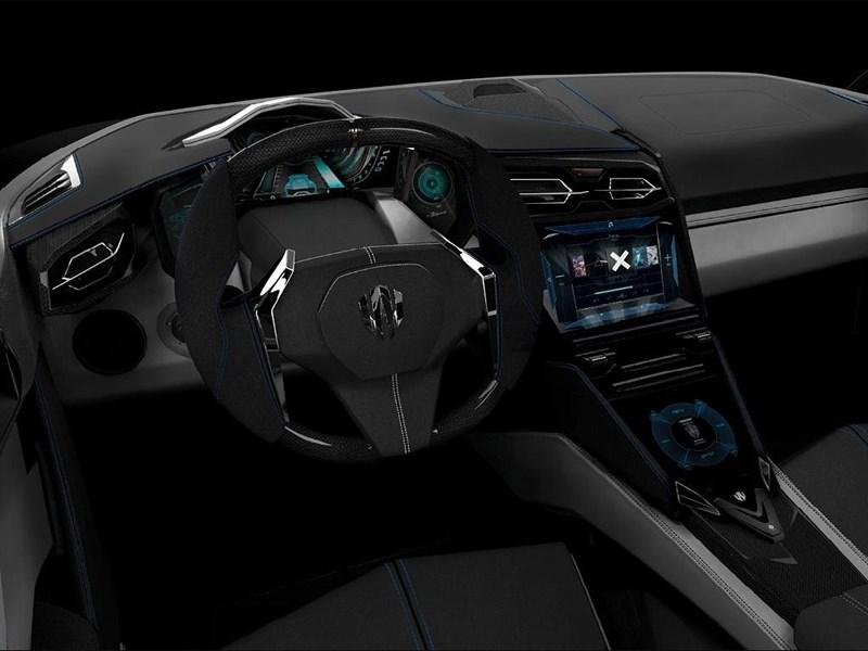W Motors Lykan Hypersport 2013 водительское место