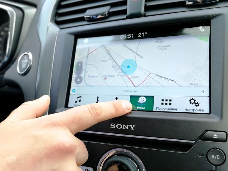 Российские Ford получат штатную навигацию Waze
