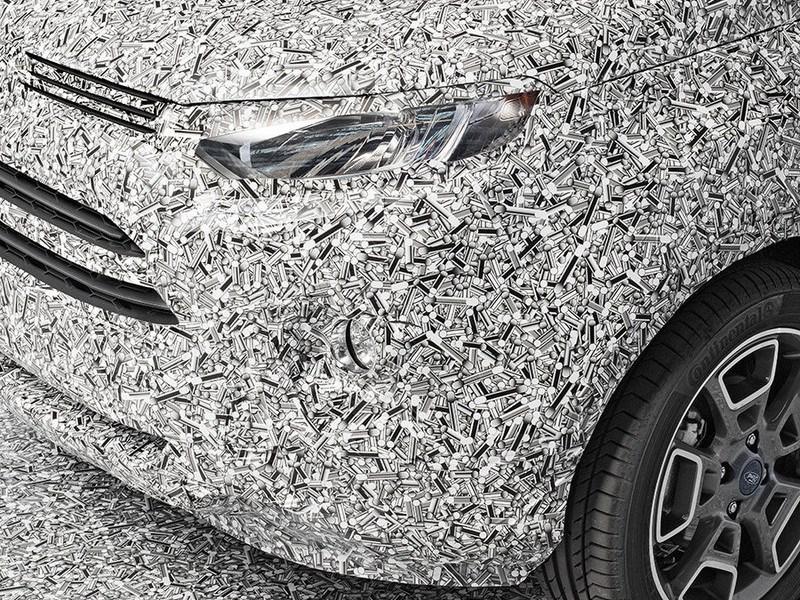 Ford продемонстрировал новый камуфляж для своих автомобилей