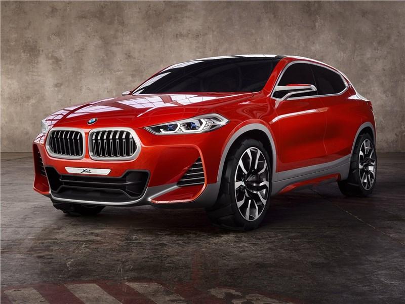 BMW X2 concept 2016 Второй пошел!
