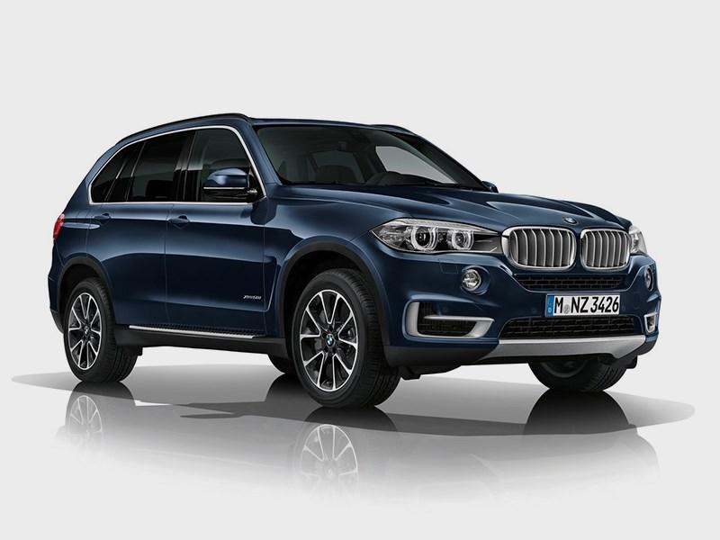 Новый BMW X5 Security Plus - BMW X5 Security Plus concept 2013 вид спереди