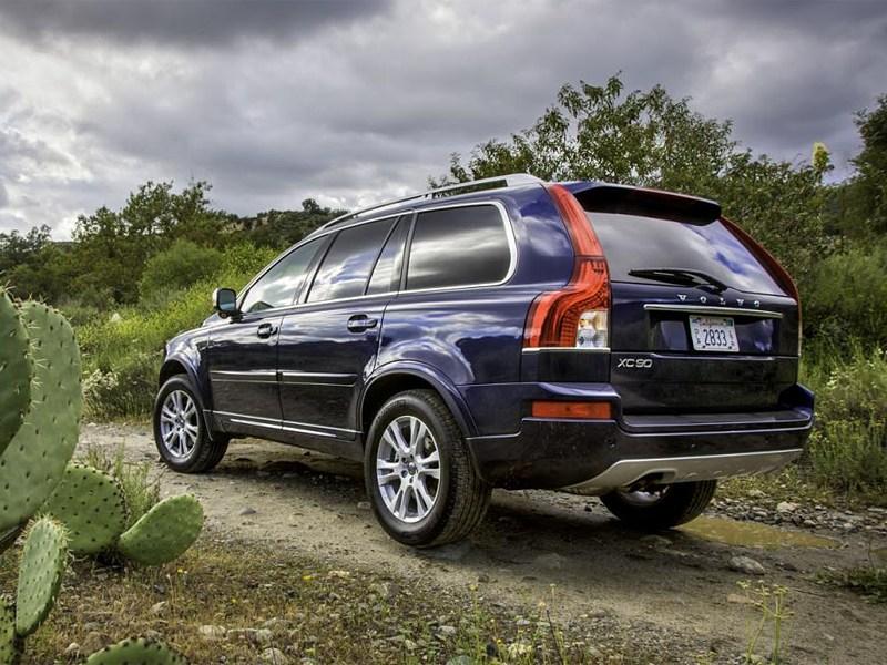 Volvo XC90 2013 вид сзади