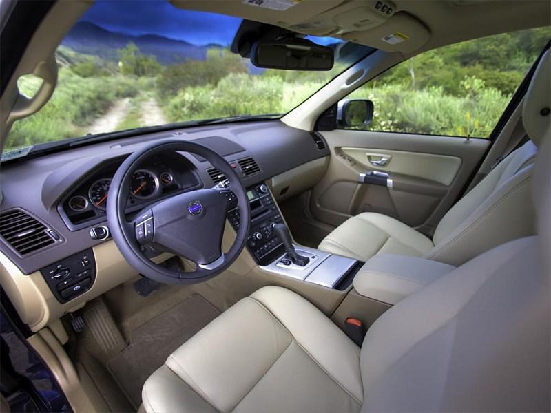 Volvo XC90 2013 водительское место