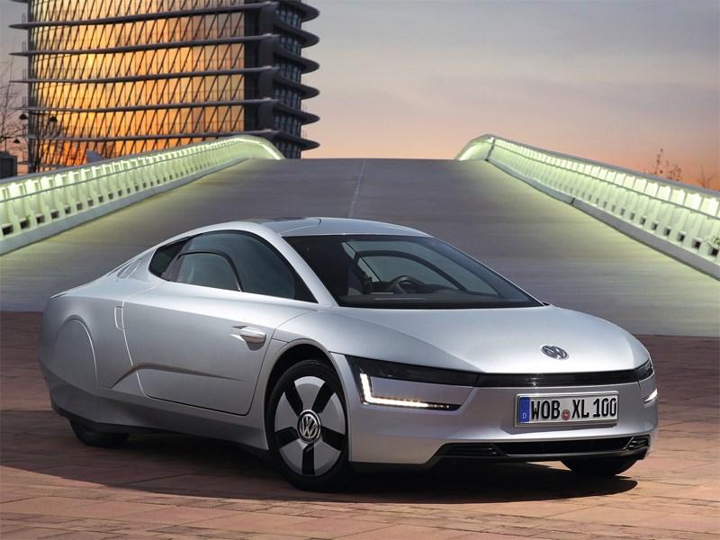 Новый Volkswagen XL1 - Volkswagen XL1 2013 вид спереди