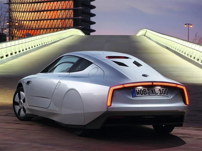 Volkswagen XL1 2013 вид сзади