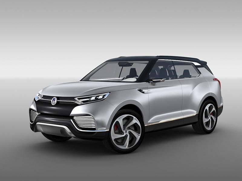 Новый SsangYong XLV - SsangYong XLV concept 2014 вид спереди фото 1