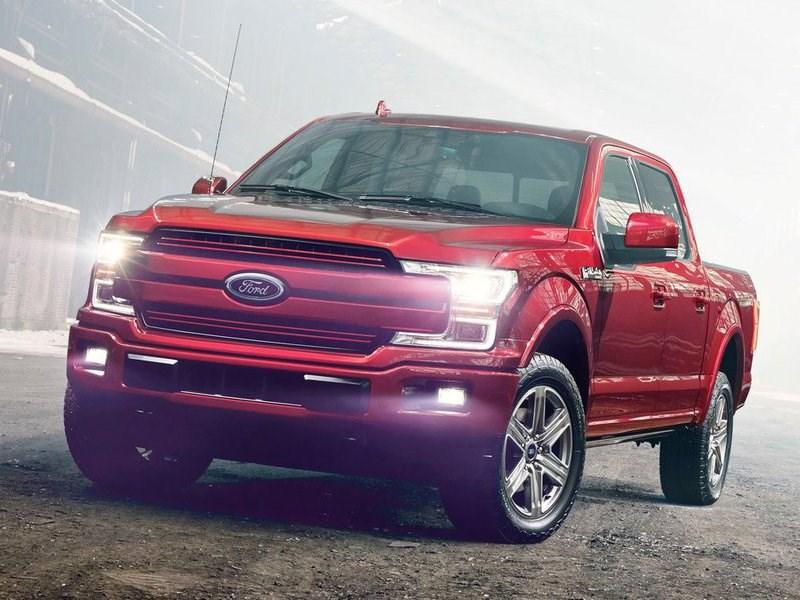 Ford представил в Детройте обновленный F-150