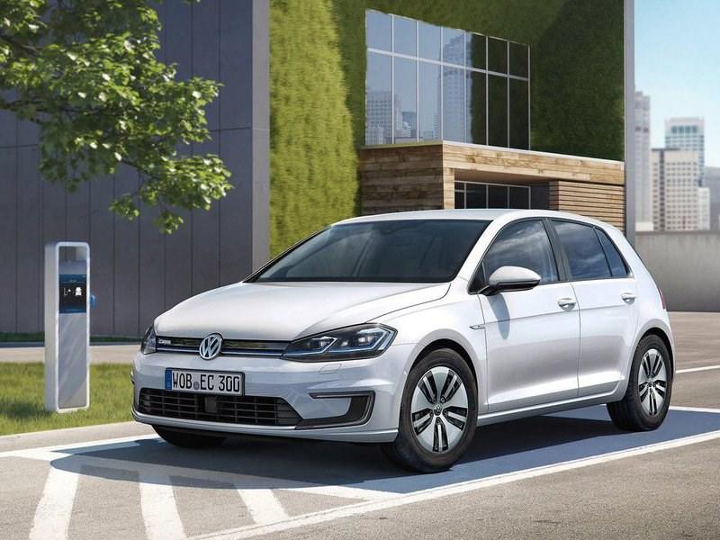 Volkswagen представил электрическую модификацию обновленного Golf