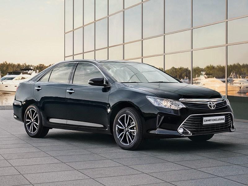 Toyota представила специальную комплектацию Camry для российского рынка