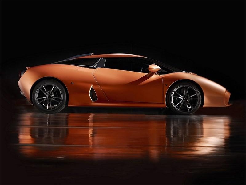 Lamborghini 5-95 Zagato 2014 вид сбоку