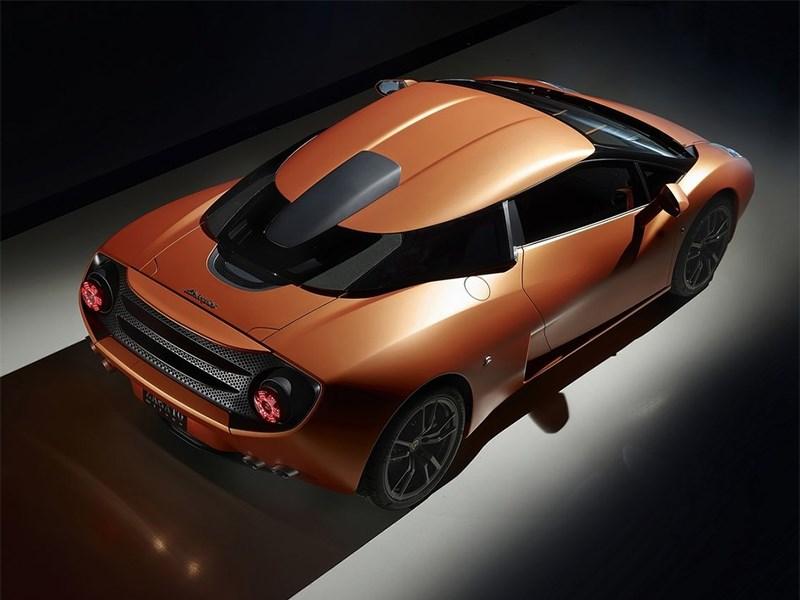 Lamborghini 5-95 Zagato 2014 вид сверху