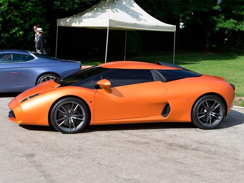 Lamborghini 5-95 Zagato 2014 вид сбоку фото 2