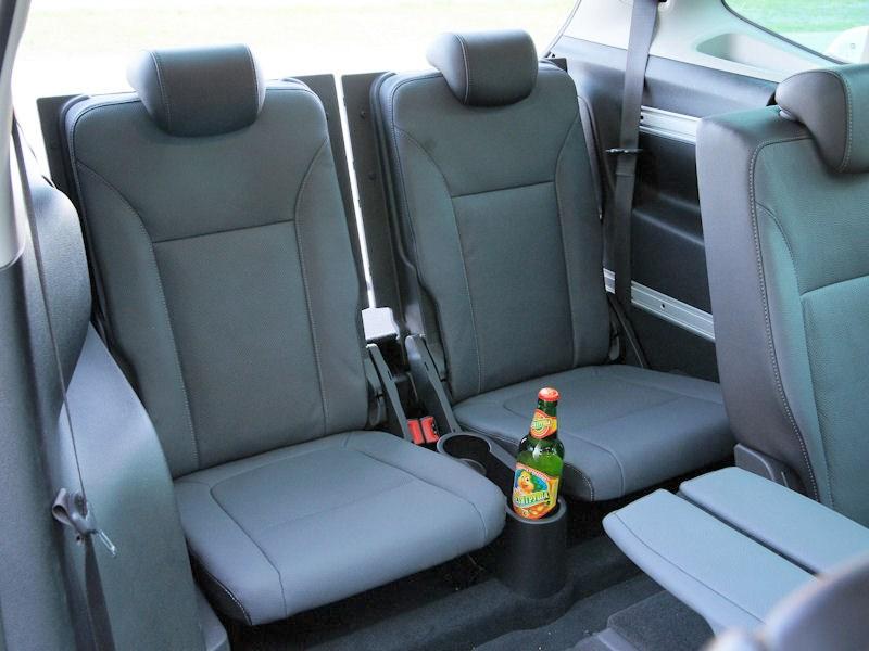 Opel Zafira Tourer 2012 тредий ряд кресел