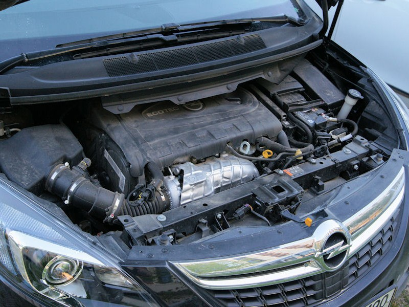 Opel Zafira Tourer 2012 двигатель