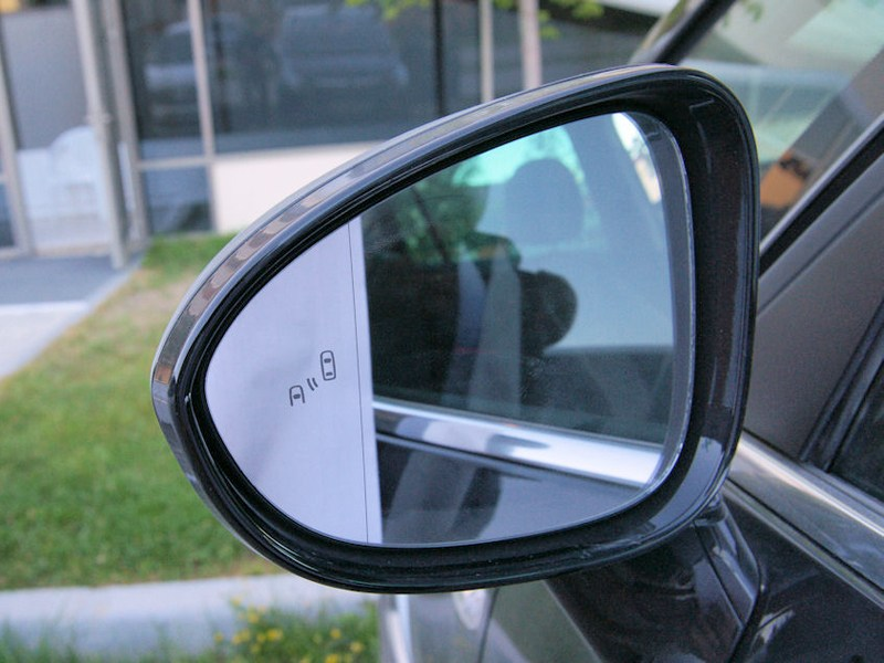 Opel Zafira Tourer 2012 наружное зеркало