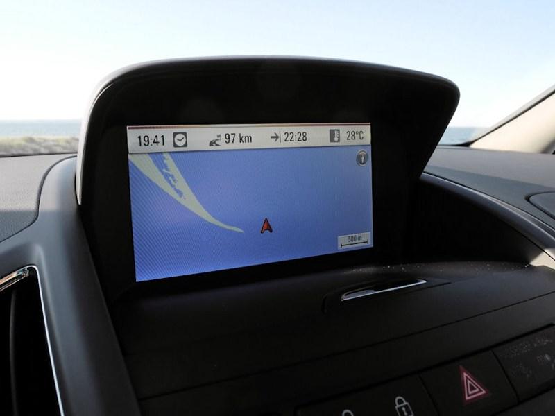 Opel Zafira Tourer 2012 система навигации