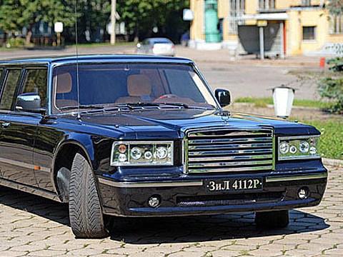 Путинский лимузин продадут арабскому шейху
