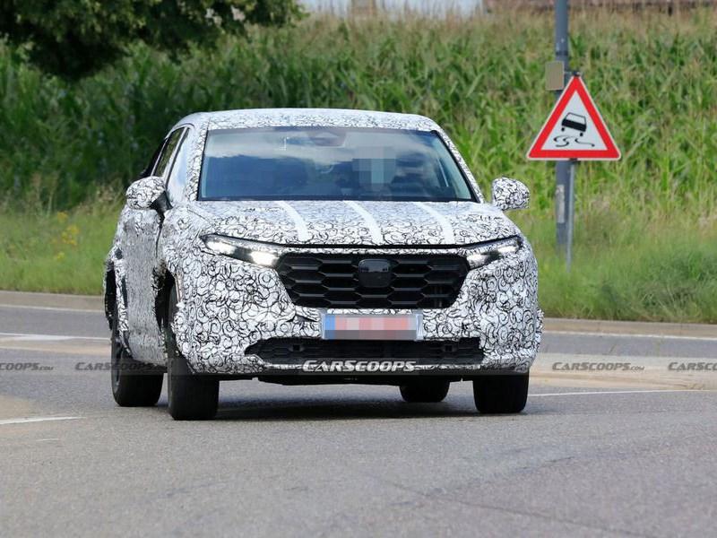Новый Honda CR-V попал в объективы шпионов