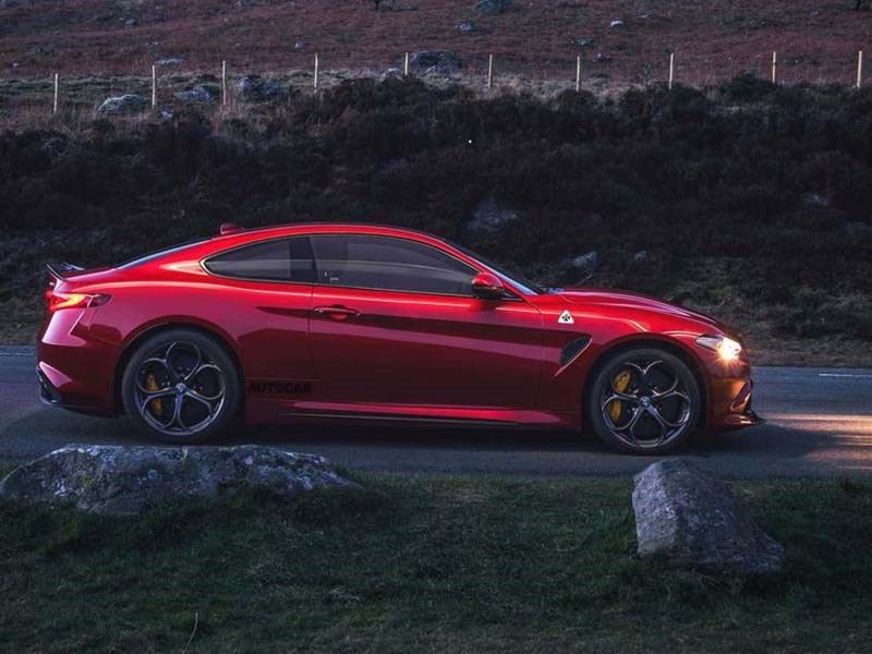 Alfa Romeo готовит двухдверную Giulia. Она будет немножко Ferrari
