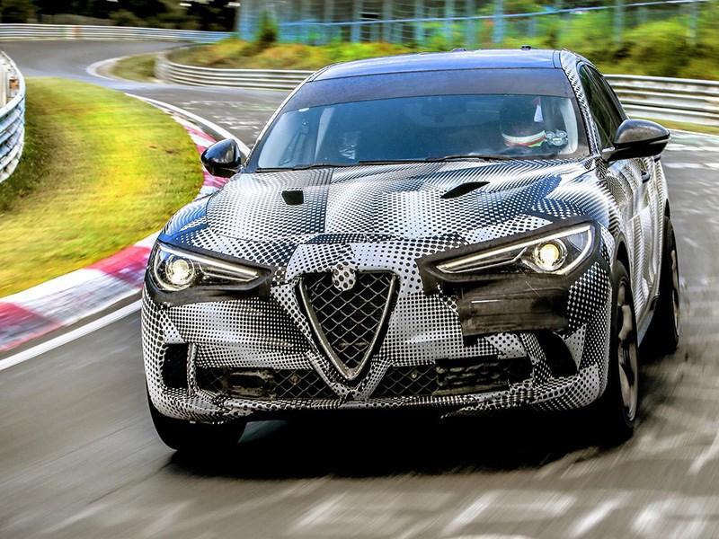 Alfa Romeo Stelvio QV поставил рекорд Нюрбургринга