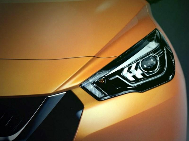 Nissan рассекретил новое поколение хэтчбека Micra
