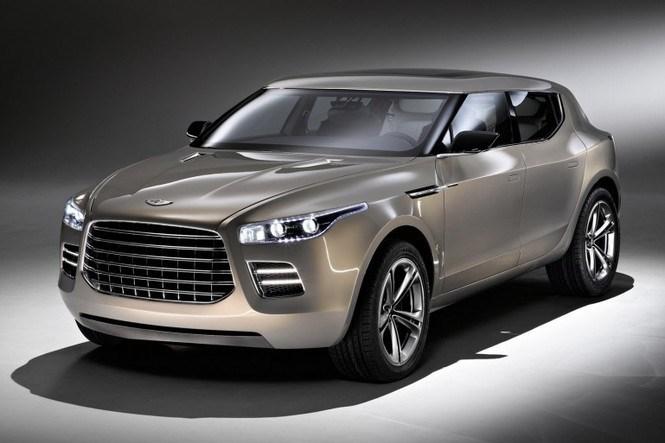 В прессе появились фотографии первого серийного кроссовера Aston Martin