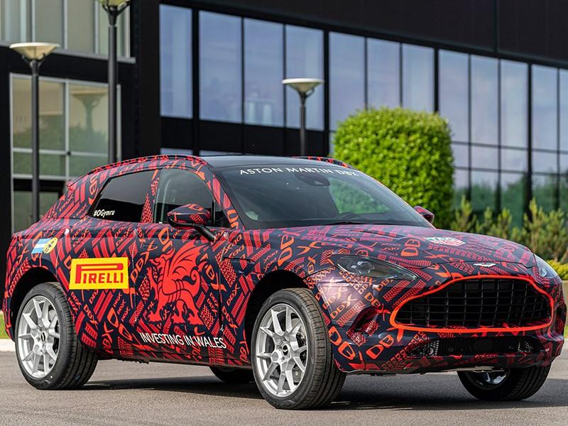 Aston Martin начал выпуск первого кроссовера марки
