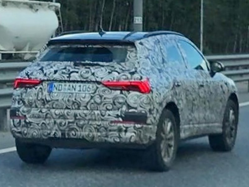 Audi тестирует новую Q3 в России